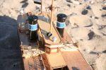 Στην κόντρα γέφυρα ο  καπτά Κώστας δεν ξέχασε ούτε τα τη μπουρού ούτε τα σινιάλα της  ακινησίας!